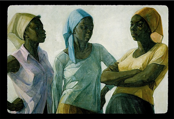The-Conversation-by-Barrington-Watson-National-Gallery